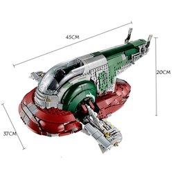 05037 Подлинный UCS Plave No.1 Mobile 2067PCS Строительный блок Кирпичи Игрушки 75060 на Распродаже