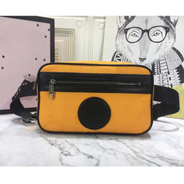 camera waist bags Canada - Bag Quality Off Men's Mini Bags Top Women's Size Sling Camera Waist Canvas The Grid Crossbody Celebrity 25x5.5x14.5cm Knodq