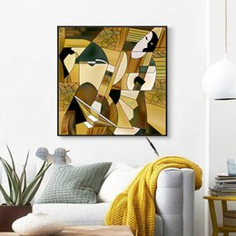 Wall Art pictures Vintage Cuadros Women Figure Quotes Poster and Prints Canvas Painting Abstract Lady Posters Decorative Picture on Sale