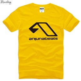 dj t shirt l NZ - New Summer Above & Beyond Anjunabeats T Shirts Men Cotton Short Sleeve MC Nightclub Men's T-Shirt Fashion Male Music DJ T shirt
