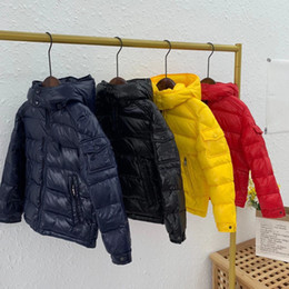 Wholesale girls yellow jacket for sale - Group buy 2020 high end boys Girls kids Warm Winter down Coat Children s Clothing Baby Children s Winter Down Jacket