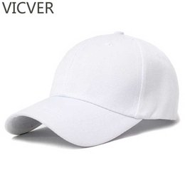 truckers summer caps Canada - Snapback Baseball Cap Canvas Trucker Hats White Dad Hat Women Plain Men Summer Casual Solid Hip Hop Black Hats Golf Adjustable