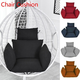 Swing Chair Cushion Mat Hanging Indoor Outdoor Patio Egg Chair Seat Pad Pillow (Without Chair) on Sale