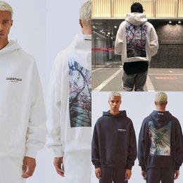 Wholesale spot hoodie online – oversize m167z Digital jacket zipper cardigan Male Long Sleeve Sweater Hooded Spotted dot Hoodies Sweatshirts Print Coat Clothing Tops Thick