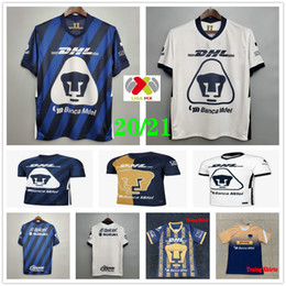 Wholesale mexican shirts for sale - Group buy 2020 Mexican Football Club UNAM Soccer Jersey MARTINEZ HACHITA BRITOS CALDERON FORMICA Custom Home Away Adult Kids Football Shirt