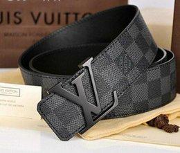 cinturones de diseño cinturones de lujo para hombres superiores hebilla de cinturón mens cinturones de cuero al por mayor libre shippingoUY en venta