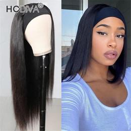venda por atacado Brasileiro Virgin Humano HeadBand Cabelo fazer a cabeça completa linha reta onda do corpo de onda profunda encaracolado Kinky straight textura Weaving alta qualidade