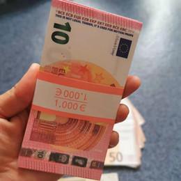 venda por atacado Melhor Qualidade Prop Bileto Dinheiro Euro 10 20 50 100 EURO DINHEIRO EURO 20 JOGAR DINHEIRO