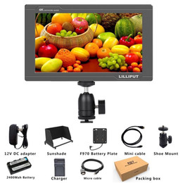 field monitors NZ - 3G SDI 4K HDMI DSLR Monitor 7 Inch LCD IPS Full HD 1920x1200 Portable On Camera Field Monitor for Cameras Rig