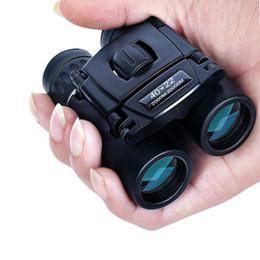 Wholesale 40x22 HD Powerful Binoculars 2000M Long Range Folding Mini Telescope BAK4 FMC Optics For Hunting Sports Outdoor Camping Travel