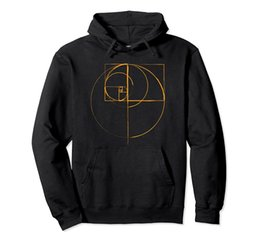 Опт fibonacci golden ratio circle Hoodie Unisex Size S-5XL with Color Black Grey Navy Royal Blue Dark Heather