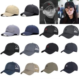 ball head cap UK - KoHvX Hat men's summer three-bar mesh big head circumference light plate quick-drying Korean style Pointed Baseball baseball cap peaked cap