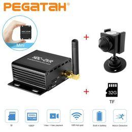 Vente en gros MINI WIFI DVR Enregistreur vidéo ANALOG Caméra DVR DVR Enregistrement Vidéo Real Enregistrer Vidéo Détection de mouvement AHD / TVI / CVI 1080P Caméra CCTV CCTV