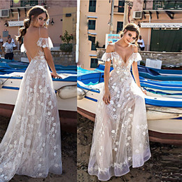 European and American wedding dress sexy lace-up gown gauze dress
