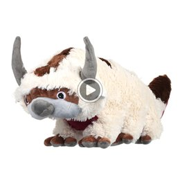 soft toy cow NZ - 16 Inch Anime Kaii Avatar Last Airbender Appa Plush Toys Soft Juguetes Cow Stuffed Animal Brinquedos Doll Kids Toys M057