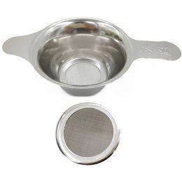 Großhandel Metall-Tee-Leak Filter Infuser Edelstahl Teesieb Seiher Kreative Teefilter Diffusor Seiher Küchenwerkzeug VT1609