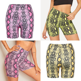 Wholesale golf gym workout online – Women Yoga Shorts Tennis Skirts Run Yoga Inner Shorts Elastic Sports Golf S Hakama Training Fitness Workout Trousers Gym