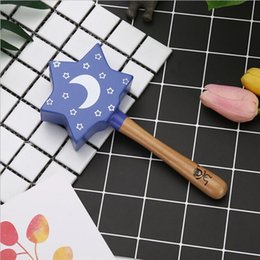 educational games for kids wholesale NZ - Intelligence Grasping Games Hand Bell Rattle 1pc Wood Baby Rattles Toy Funny Educational Mobiles Toys Birthday Gifts For Kids