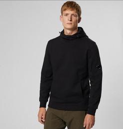Wholesale hood sweaters online – oversize Top Quality Cp company Men Women DIAGONAL RAISED FLEECE FULL HOOD SWEATSHIRT Cardigan zipper sweater hoodies M XXL SG
