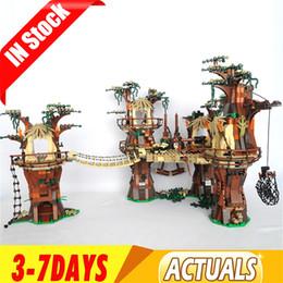 Wholesale stars wars online – design 05047 US In Stock Star Toys Wars Ewok Village Building Blocks Bricks Toys Gifts