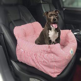 venda por atacado Pet Dog suporte do assento suave e quente cama de viagem Acessórios Puppy Dog Cat Car Seat Cover Folding Hammock Hanging Bag Safety Basket