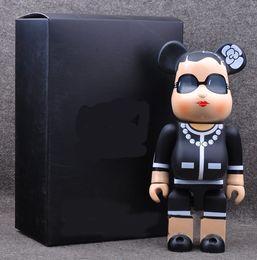 venda por atacado Tamanho grande urso 28CM moda figuras Toy Para Collectors Be @ rbrick Arte decorações modelo de trabalho