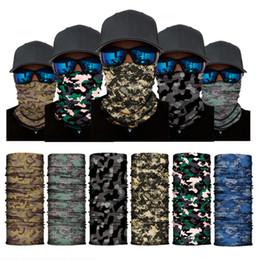 25*50cm Polyester Multi-function Magic Sport Mask Scarf Tubular Seamless Neck Bandanas For Riding Hiking Sport Headbands