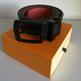 Wholesale black faux leather tops resale online - Fashion Top Quality Mens Belts Designers Famous Genuine Leather Belts for Men Women Cowskin Designer Belt For Men With Box