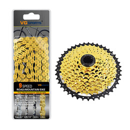 bicycle freewheel Australia - 9 10 Speed 11-42T Bicycle Freewheel Cassette with Chain