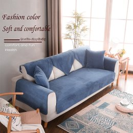Wholesale Waterproof slip-on Sofa cushion all-purpose Summer Mat all-purpose all-purpose Nordic simple modern cover cloth urine washable cover