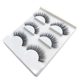 false eyelashes 12mm Australia - SHIDISHANGTPIN 3D mink lashes soft natural long eyelashes false eyelashes fake eyelash hand made makeup full strip lashes X10