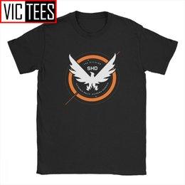 Wholesale rogue t shirt for sale – custom The Division Shd Tshirt Men Tom Rogue Redux Last Light Epic Game Funny Percent Cotton T Shirt Classic