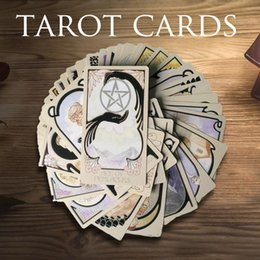 Discount vision designer 80 Games Board Card Ethereal Entertainment Illuminated Deck Cards Party Table For Pcs Playing Tarot Game Visions English