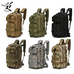 Wholesale 1000D Nylon Tactical Backpack Military Backpack Waterproof Army Rucksack Outdoor Sports Camping Hiking Fishing Hunting 28L Bag Y200920