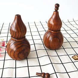 wood toothpick holders Australia - Creative Toothpick Holder Japanese Style Portable Mini Toothpick Wood Holder Hyacinth Storage Box Decorative