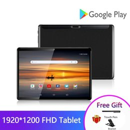 Discount fastest tablet pc ZONKO 10 inch Tablet Android 9.0 5G Wifi Tablets PC 2GB RAM 32GB ROM 1920*1200 Full HD Octa Core GPS Dual Cameras Fast C
