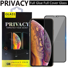 Wholesale mirror screen protector for samsung for sale - Group buy Privacy Anti peeping anti spy Full Cover Tempered Glass screen protector For iPhone12 iphone Pro XR XS max Plus SAMSUNG S21 S21PLUS A51 A71 A72 A52 A32 g