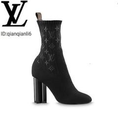 Wholesale women demin dresses resale online - qianqianli6 EN A3MIW Silhouette Ankle Boot Women Boot Riding Rain BOOTS BOOTIES SNEAKERS High heels Lolita PUMPS Dress Shoes