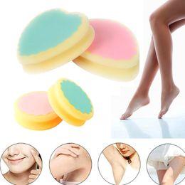 Magic Painless Hair Removal Sponge Pads Depilation Sponge Pad Remove Hair Remover Effective Skin Beauty Care Tools Epilator GGA3748-2 on Sale