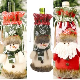 Wholesale father christmas costumes online – ideas oFiRx Spoon clothing Father Table Costume Cutlery Bag Holder Decorations Wine set Fork Hotel Spoon Knife Tableware Cover Decor Suit Christmas