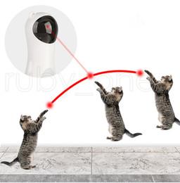 Automatische rotierende Infrarotlaser Lustige Haustier Hund Katze Infrarot Laser Spielzeug Viergang Rotierende Mode Laserabstand Einstellbare Katze Spielzeug RRA3587 im Angebot