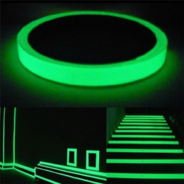 tape glow NZ - 3-10M Luminous Fluorescent Night Self-adhesive Glow In The Dark Switch Sticker Tape Safety Security Room Decoration Warning Tape