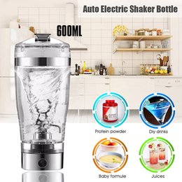 Discount vortex mixer Portable Vortex Electric Protein Shaker Mixer Bottle Detachable Cup