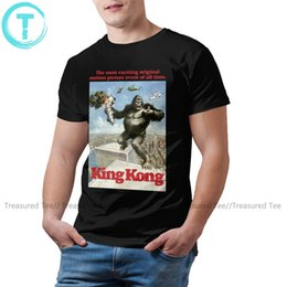 Discount gorilla tshirt Gorilla T Shirt KONG T-Shirt Casual Fun Tee Shirt Short Sleeve 100 Cotton Men 5xl Print Tshirt