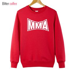 Wholesale mma sweatshirts hoodies resale online - New winter Funny Hoodies MMA Funny Hoodies Muhammad crewneck sweatshirt Yards Funny Hoodies Sweatshirts Plus Size