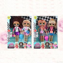 Toptan satış 9 İnç Doll Lady Moda Bebek Hairgoals Oyuncak Ortak 2adet / Kutu 144pcs Ücretsiz Kargo ile gel