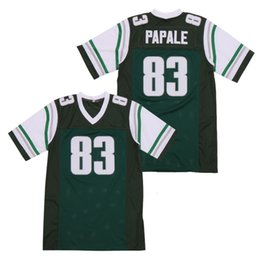 Wholesale movies football for sale – custom Movie Jerseys Vince Papale Invincible Movie Green Football Jersey Mark Wahlberg Sports Appaerl Stitched Size S XL
