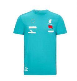 venda por atacado F1 fãs Série Corrida equipe uniforme t-shirt verão em torno do pescoço camisa cultural estrela camisa de mangas curtas camisa masculina jersey