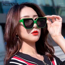 Discount wind sunglasses New fashion sunglasses men and women Europe and the United States trend wind net red sunglasses couple street shooting glasses1