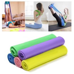 wholesale pilates yoga equipment UK - 1Pcs HOT! Yoga Resistance Rubber Bands Indoor Outdoor Fitness Equipment Pilates Sport Training Workout Elastic Bands Equipment